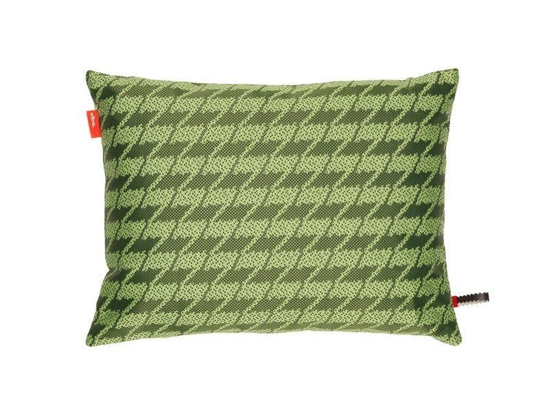 Fabric cushion REPEAT CLASSIC HOUNDSTOOTH MOSS - Vitra