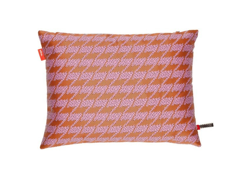 Fabric cushion REPEAT CLASSIC HOUNDSTOOTH PINK - Vitra