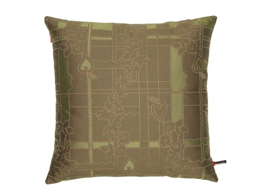 Fabric cushion PARK WOVEN BAMBOO/LICHEN - Vitra