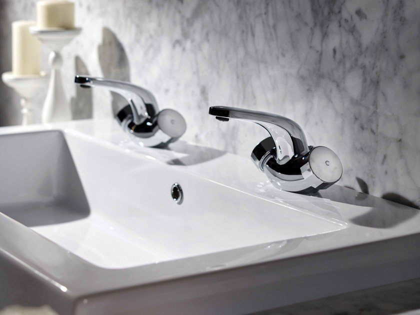 Countertop 1 hole washbasin tap TEXTURE | 1 hole washbasin tap - FIMA Carlo Frattini