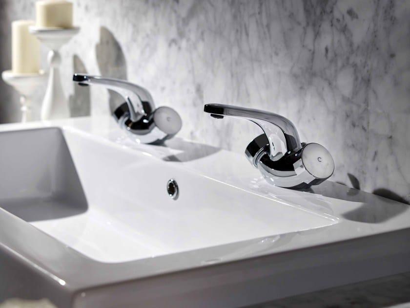 Countertop 1 hole washbasin tap TEXTURE | 1 hole washbasin tap by FIMA Carlo Frattini