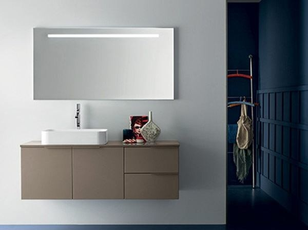 Wall-mounted vanity unit THAI COMPOSITION 11 - RAB Arredobagno