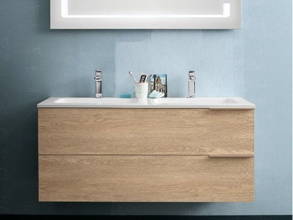 Wall-mounted vanity unit THAI COMPOSITION 13 - RAB Arredobagno