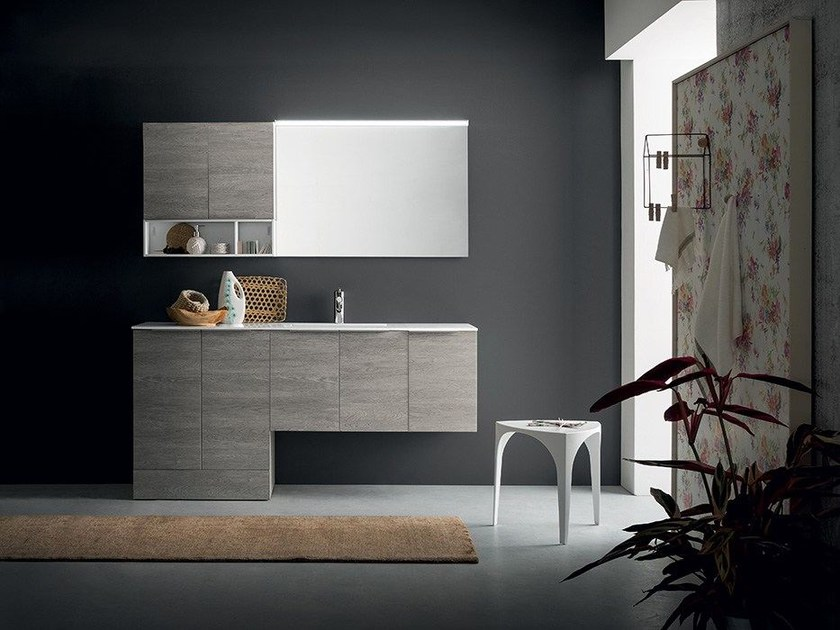 Vanity unit THAI COMPOSITION 16 by RAB Arredobagno