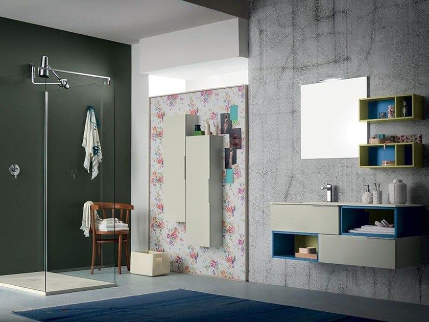 Bathroom furniture set THAI COMPOSITION 5 - RAB Arredobagno