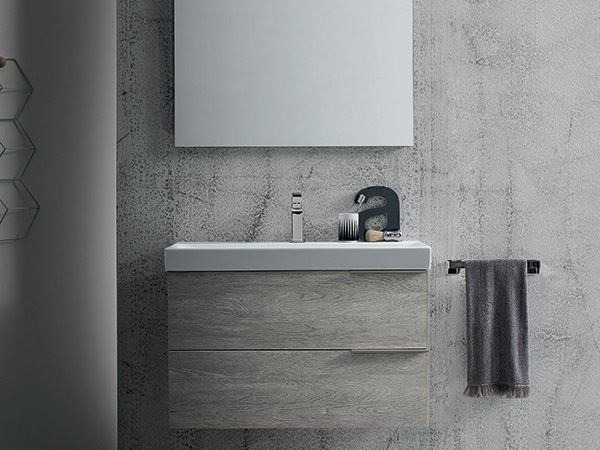 Wall-mounted vanity unit THAI COMPOSITION 6 by RAB Arredobagno