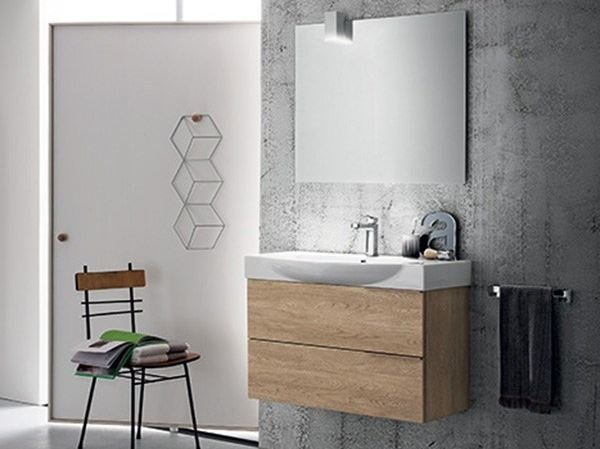 Wall-mounted vanity unit THAI COMPOSITION 7 - RAB Arredobagno