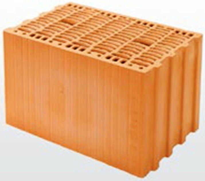 Thermal clay block THERMOPLAN® T 16 - DECORUS