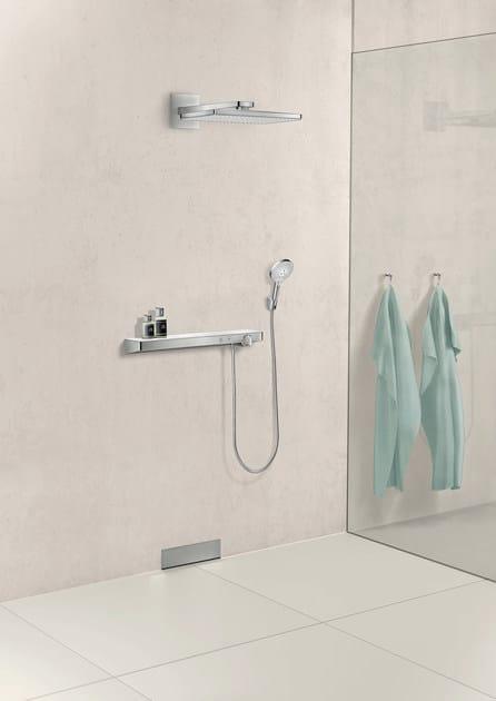 Mensola bagno miscelatore termostatico con doccetta showertablet select 700 miscelatore - Bagno termostatico ...