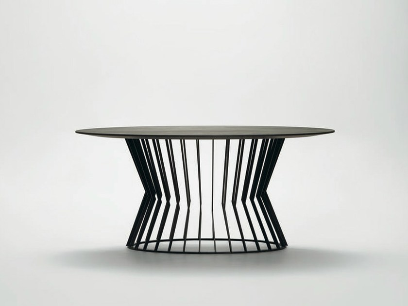Round metal table TIE | Round table - da a