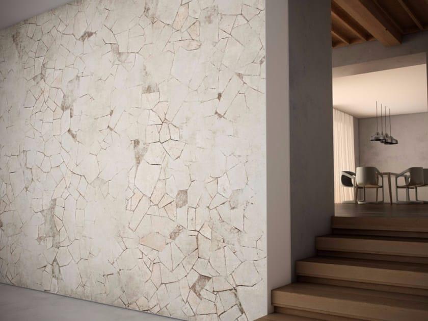 Washable vinyl wallpaper TILE BLEND - GLAMORA