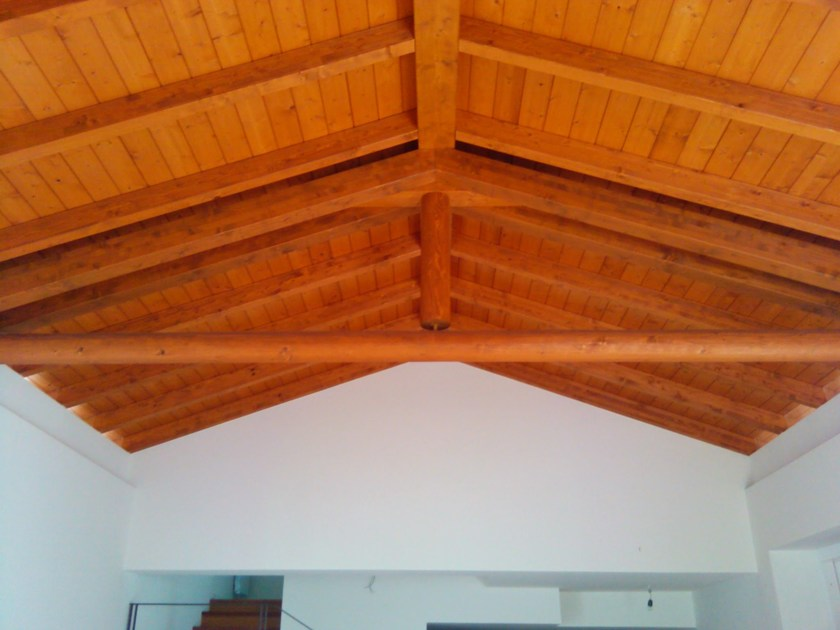 Timber truss and roof structure Timber truss by Progettoelleci