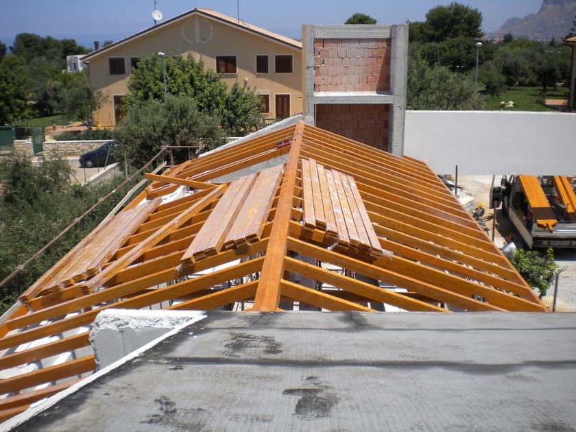 Struttura in legno per copertura Tetto in legno - Progettoelleci