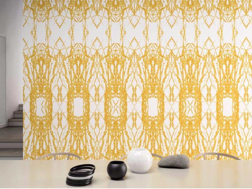 Motif washable vinyl wallpaper TINAH - GLAMORA