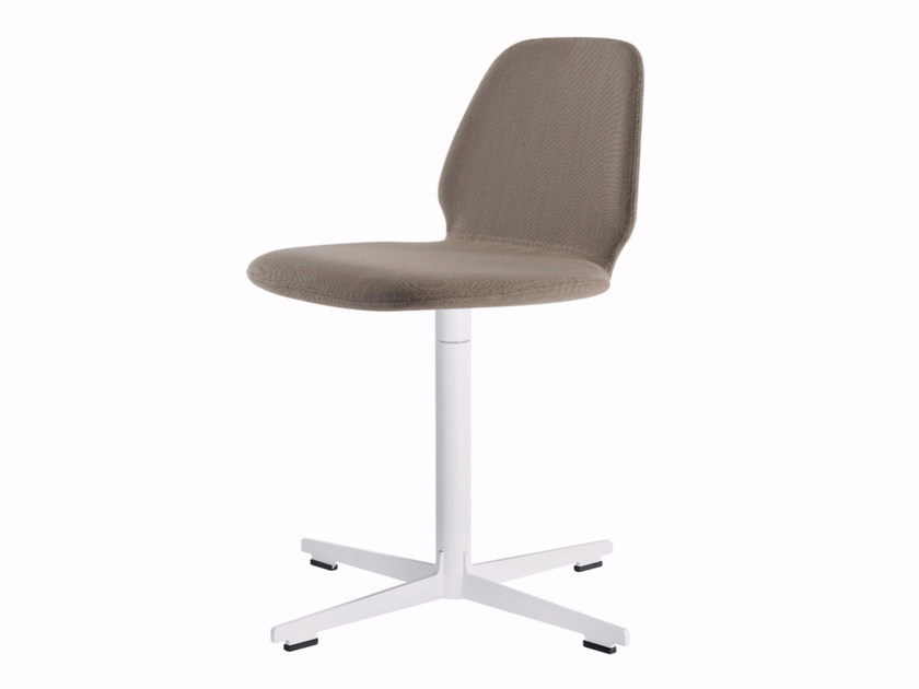 Swivel chair with 4-spoke base TINDARI CROSS - 567 by Alias