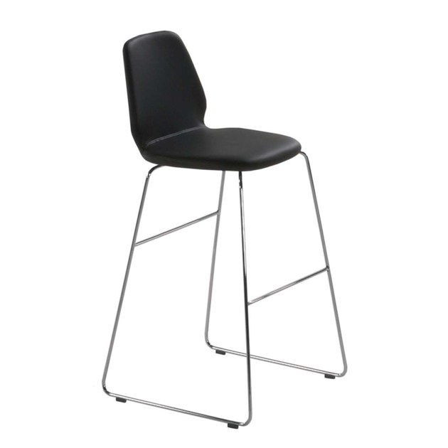 Sled base counter stool TINDARI HIGH STOOL - 554 - Alias