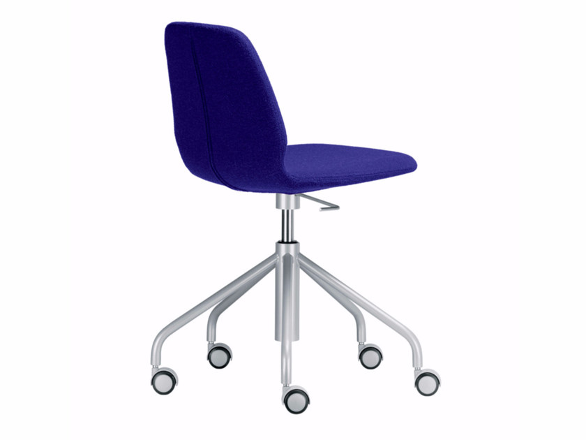 Swivel height-adjustable chair with casters TINDARI STUDIO - 519 by Alias