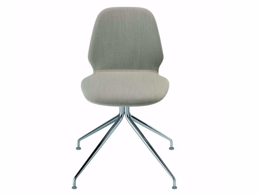 Trestle-based chair TINDARI TRESTLE - 56F - Alias