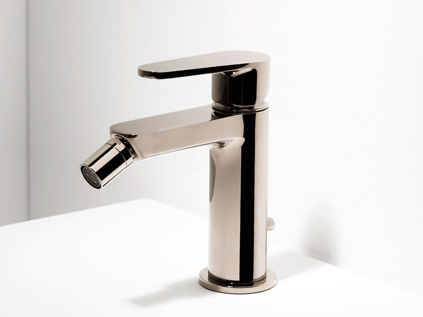 Countertop bidet mixer TIP | Single handle bidet mixer by RITMONIO