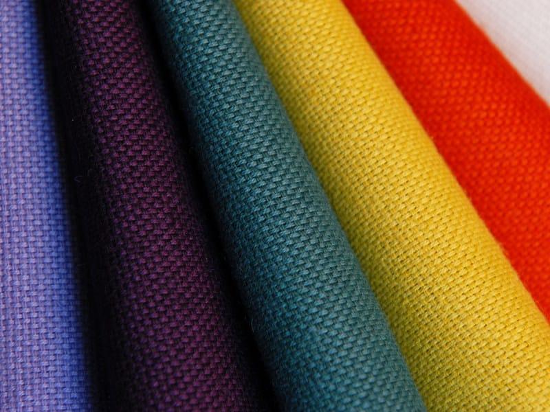 Solid-color fabric in linen and cotton TIPPI - l'Opificio