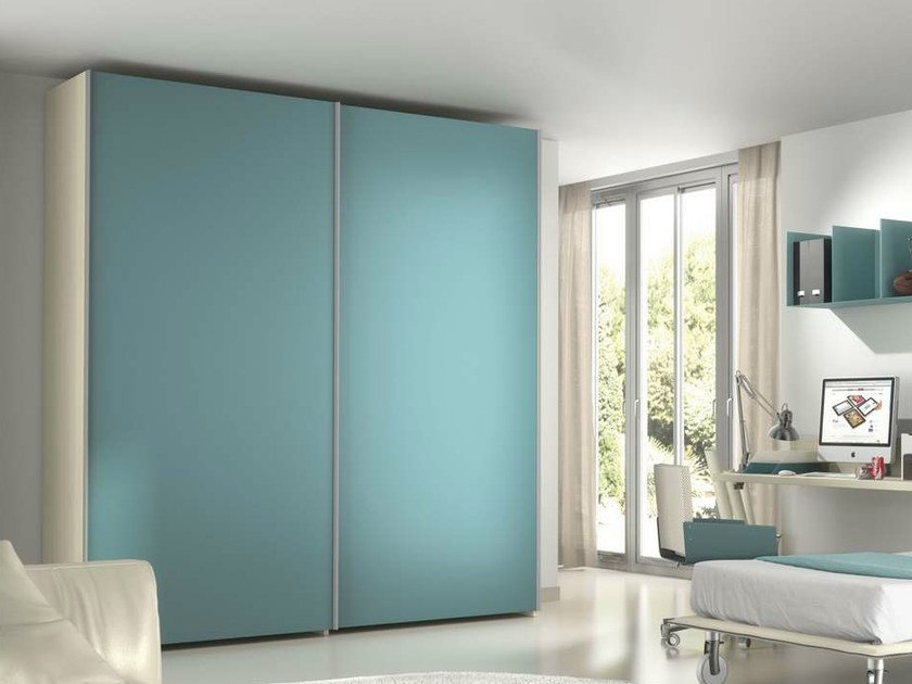 Wardrobe with sliding doors TIRAMOLLA 943-A - TUMIDEI