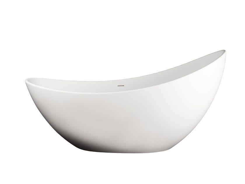 Freestanding Solid Surface® bathtub TITANIA by 7Baths