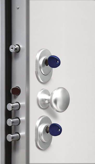 Lacquered safety door TITANO - Bertolotto Porte