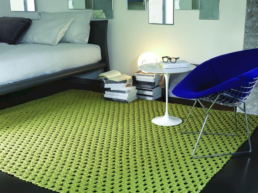Handmade fabric rug TOBAGO - Besana Moquette