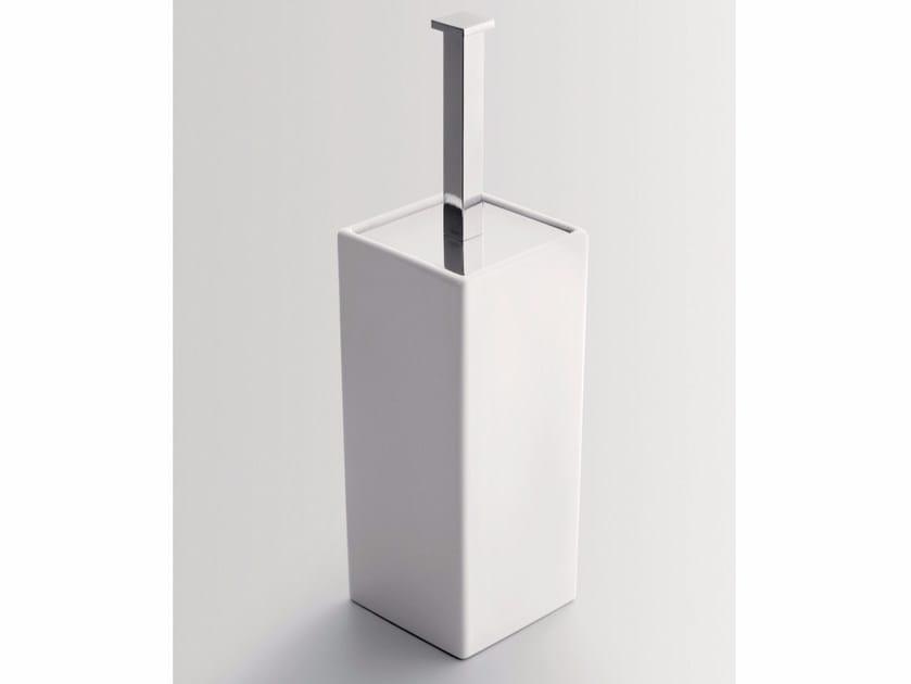 Ceramic toilet brush TIMELESS | Toilet brush - BATH&BATH