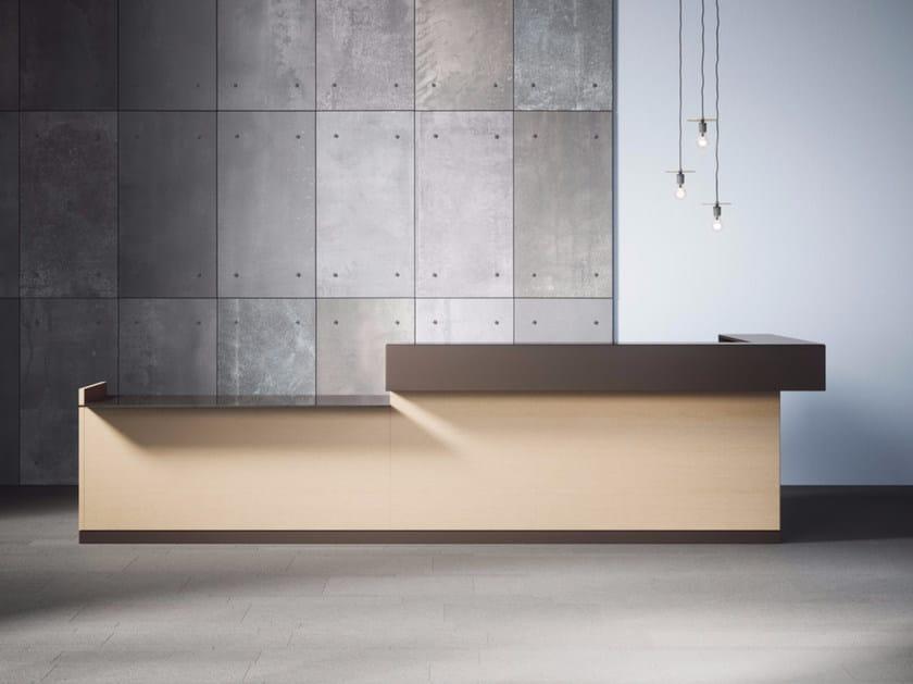 Reception desk TOKI CUBE by Archiutti