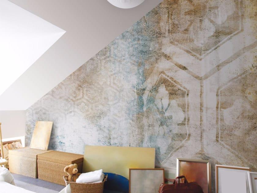 Panoramic wallpaper TOKYO LAMP - Inkiostro Bianco