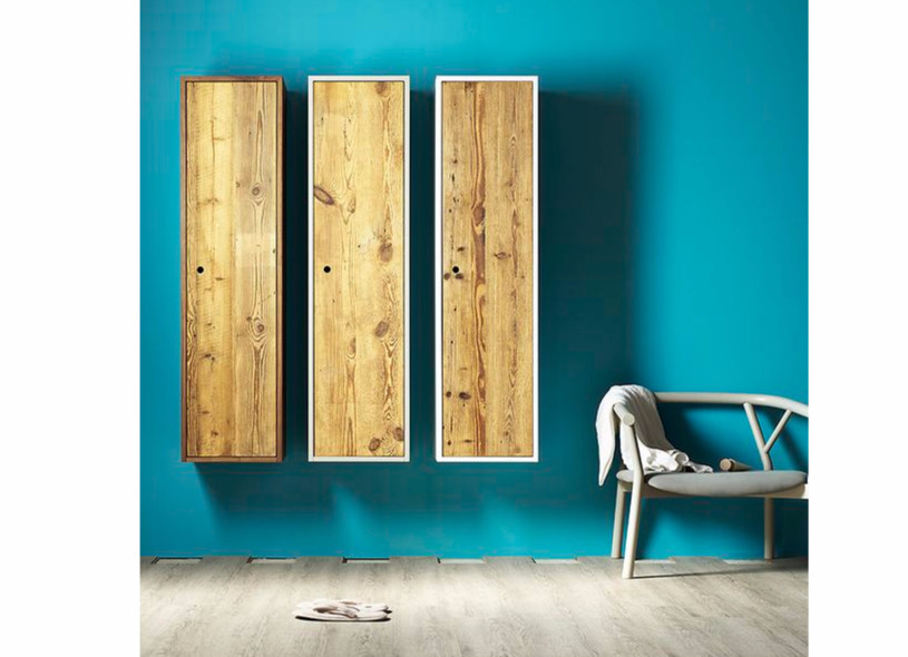 Wooden wall cabinet TOLA | Contemporary style wall cabinet - Miniforms