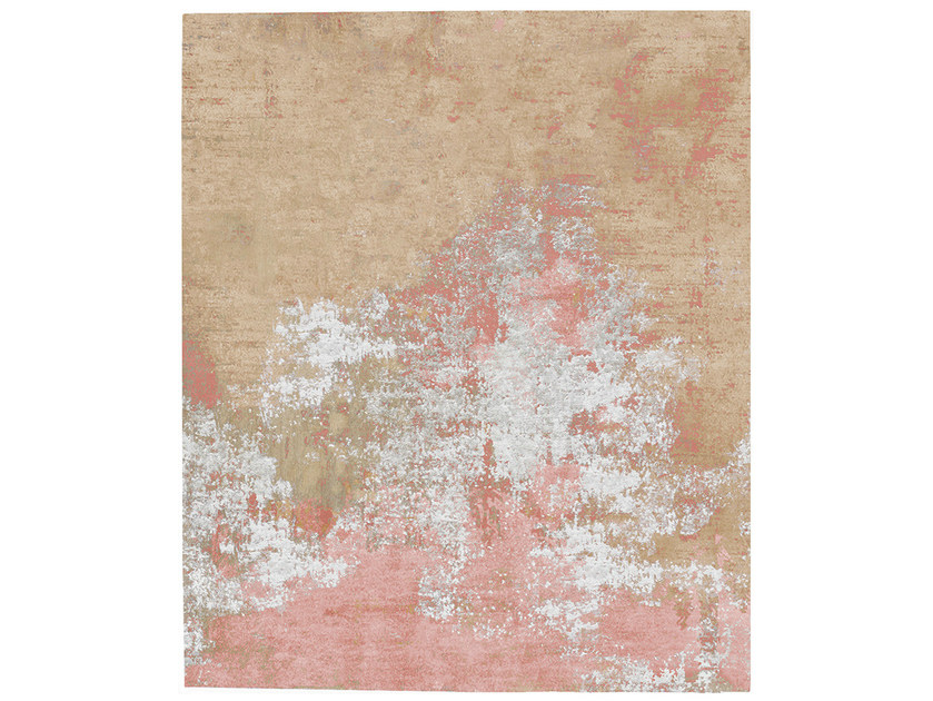 Handmade rug TOLG DIAMOND DUST - HENZEL STUDIO
