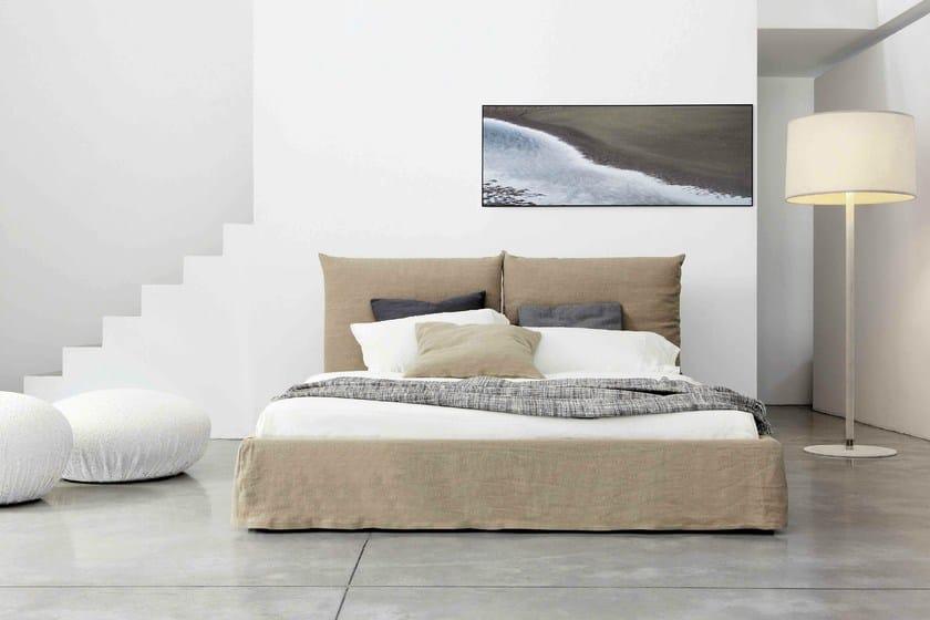 Upholstered double bed TOOLATE - Bonaldo