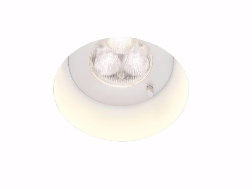 Adjustable ceiling recessed spotlight TOOLS | Spotlight by Fabbian