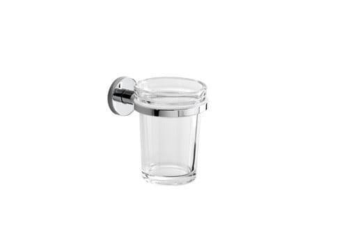 Portaspazzolino in vetro ONE | Portaspazzolino - INDA®