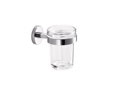 Portaspazzolino in vetro GEALUNA | Portaspazzolino - INDA®