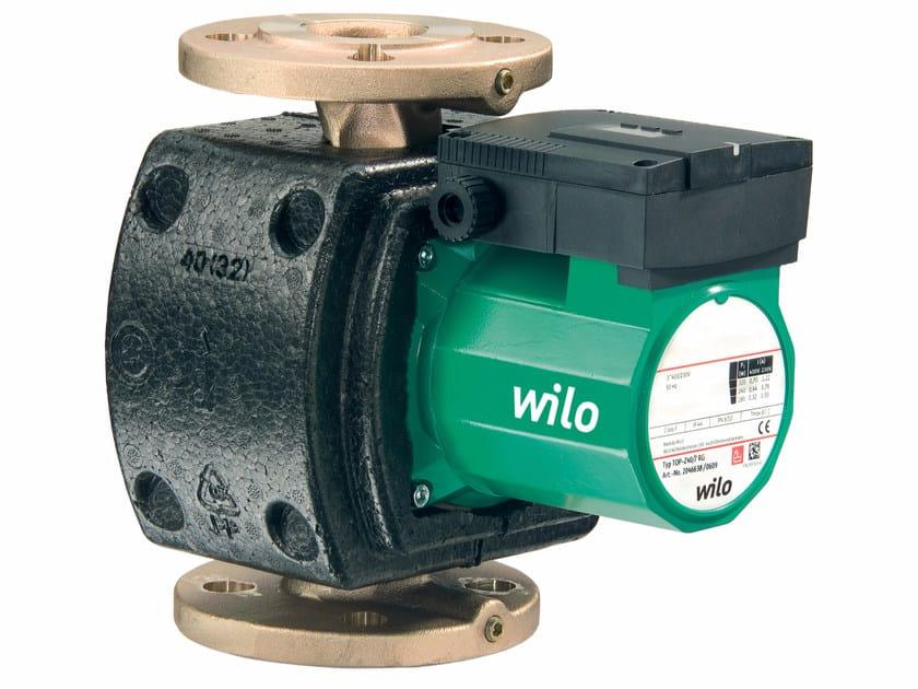 Pump and circulator TOP Z by WILO Italia