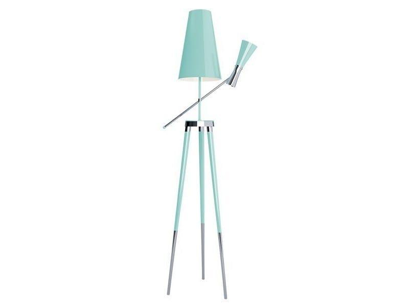 Brass floor lamp TORONTO | Floor lamp - CreativeMary