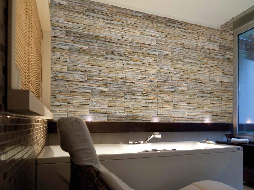 Quartzite wall tiles TORONTO by RECORD - BAGATTINI