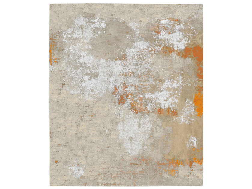 Handmade rug TORP DIAMOND DUST - HENZEL STUDIO