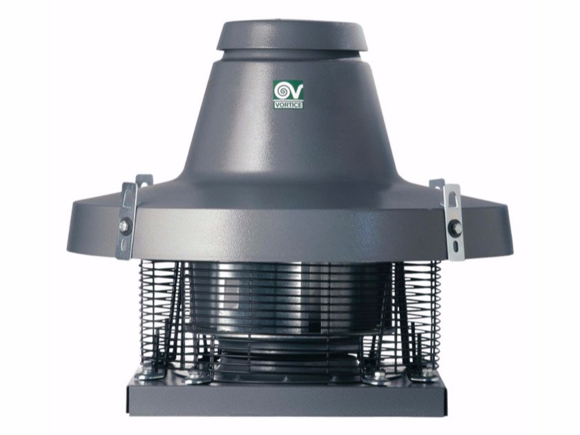 Horizontal Discharge Roof Fan TORRETTA TRT 100 ED 8P by Vortice