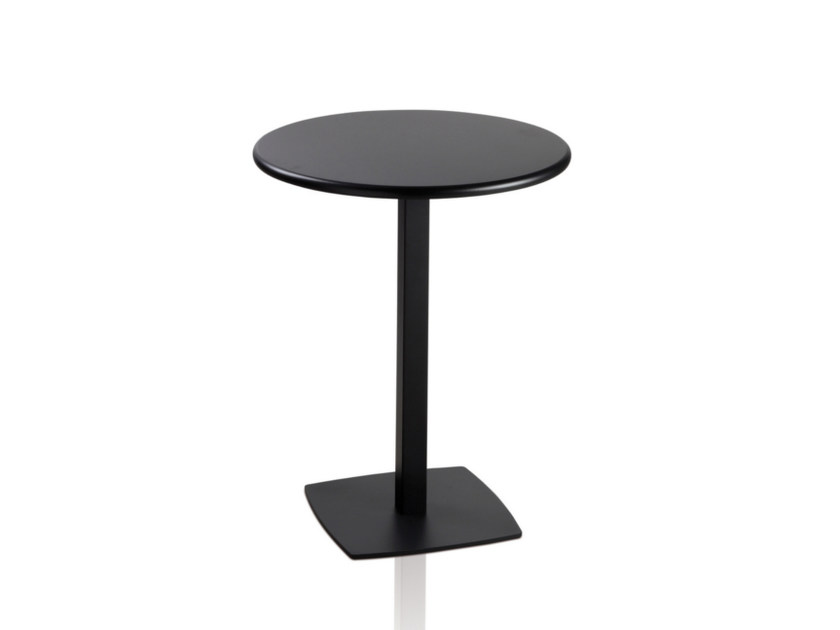 Lacquered round MDF table TOTEM 411 - TALIN