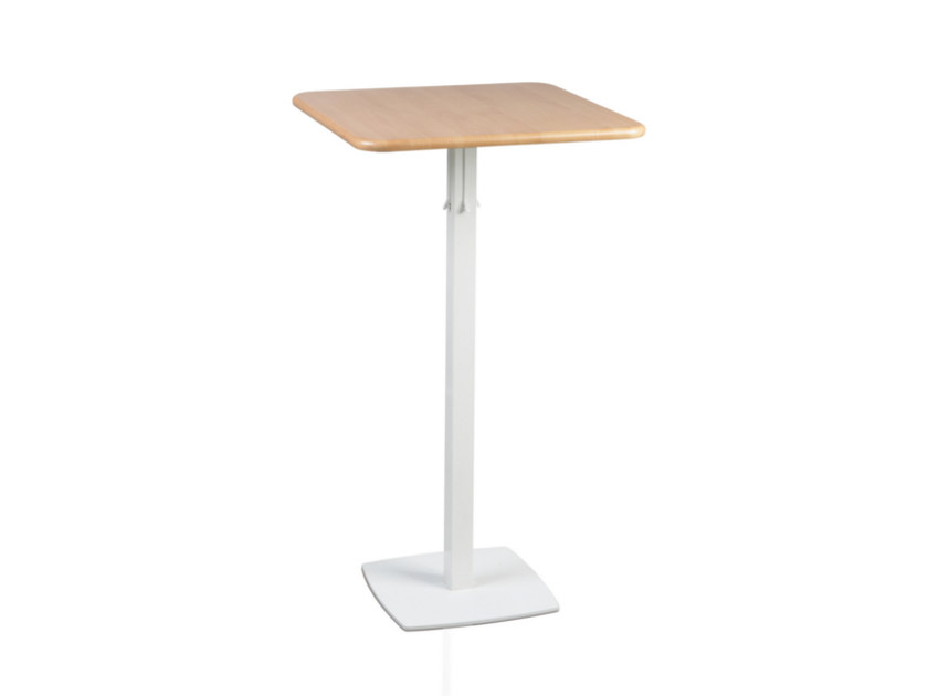 Square MDF high table TOTEM 415 - TALIN