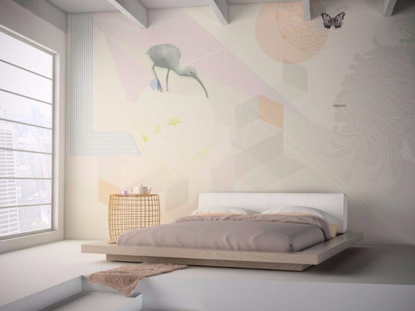 Motif washable vinyl wallpaper TOUCH - GLAMORA