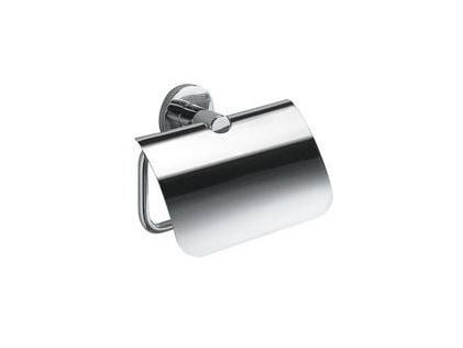 Toilet roll holder with cover TOUCH | Toilet roll holder with cover - INDA®