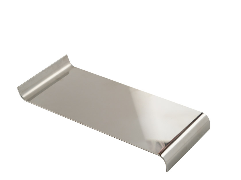 Chromed brass courtesy towel tray ESSENZA | Courtesy towel tray - LINEAG