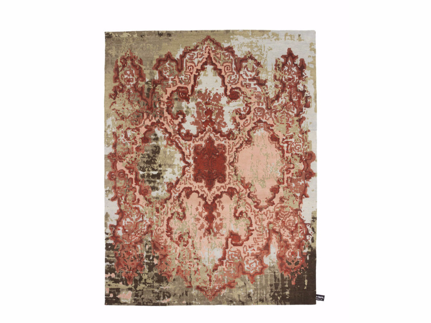 Handmade custom rug TRACES D'ORIENT by cc-tapis