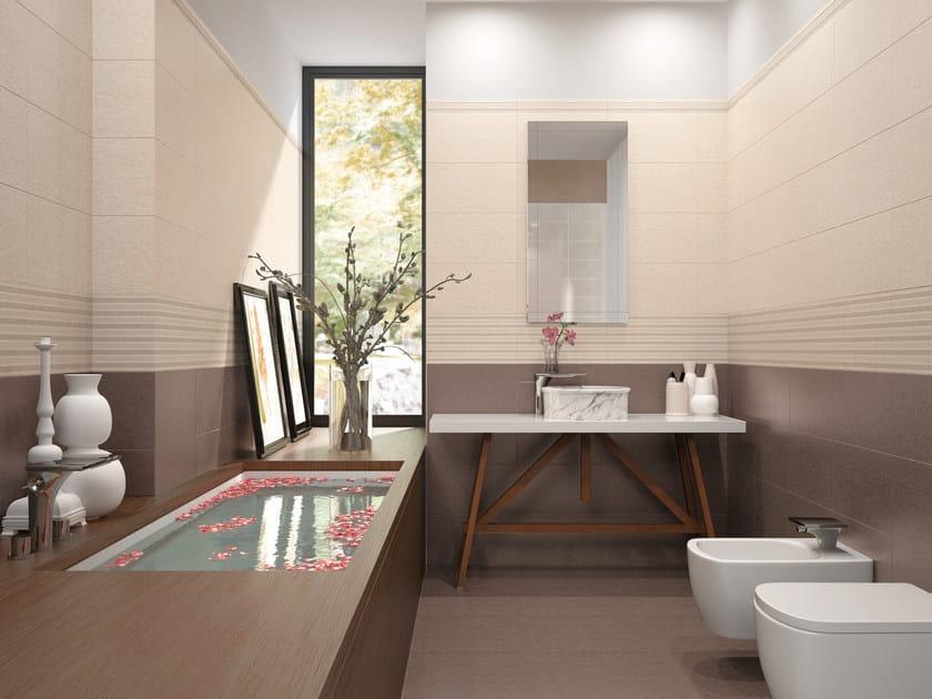White-paste wall tiles TRACKS | Wall tiles - Ceramiche Marca Corona
