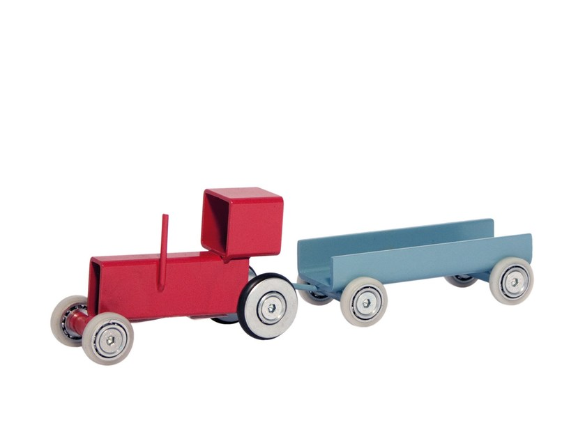 Game for children TRACTOR + WAGON - Magis
